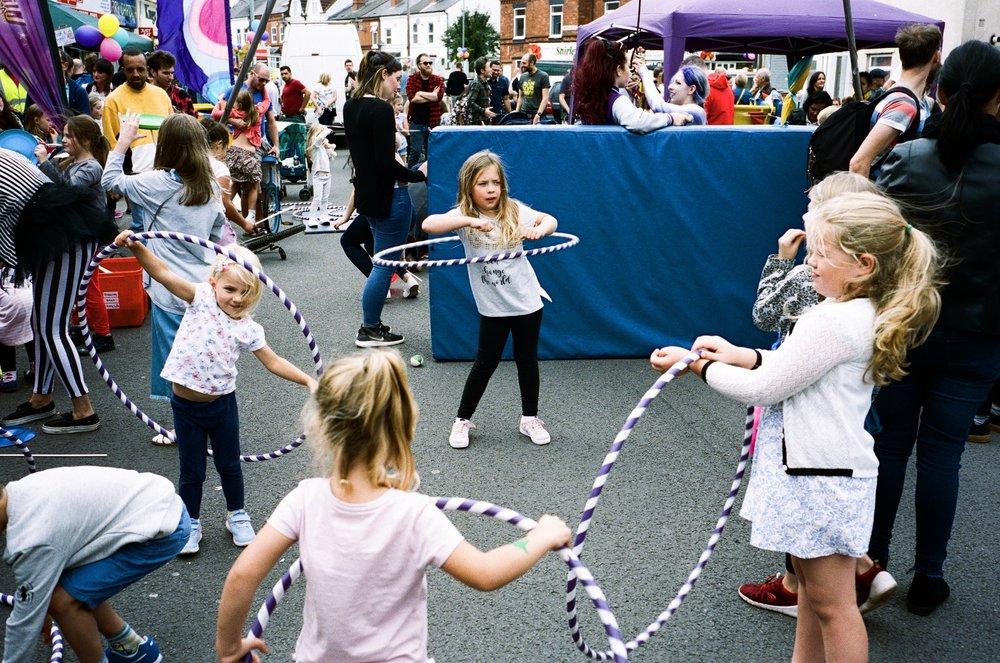 Kings Heath Street Festival, Birmingham. United Kingdom. 2018.