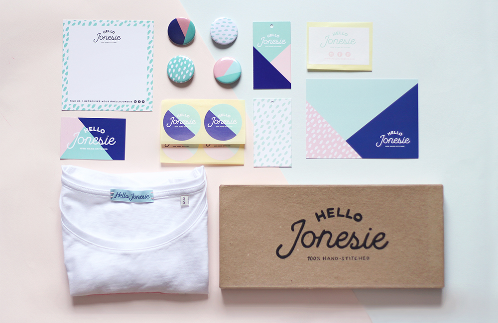 Hello Jonesie Branding by Juliet Meeks / Photos by Andréa Delétang