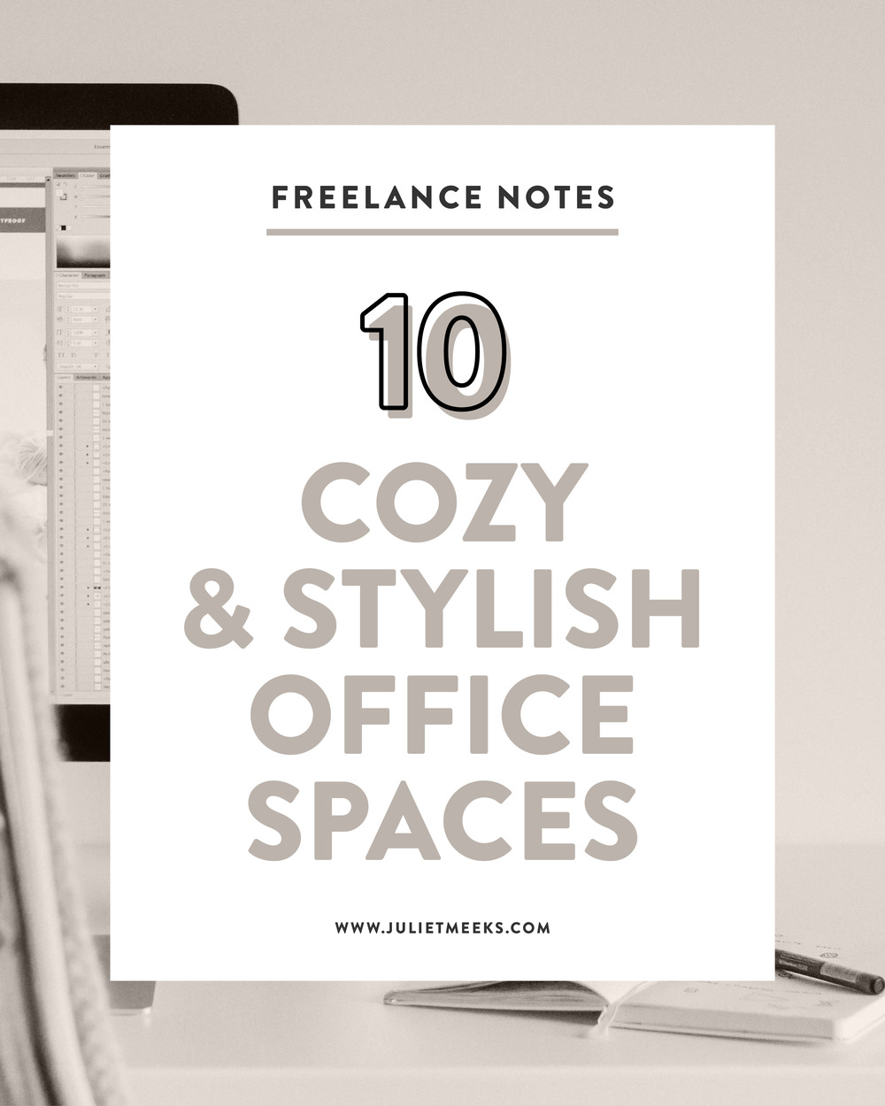10 Cozy and Stylish Office Spaces and studios for Inspiration