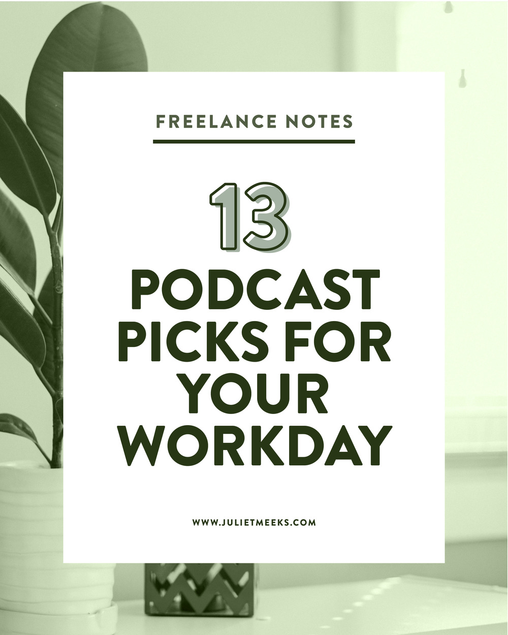 13 Podcast Picks for your Workday
