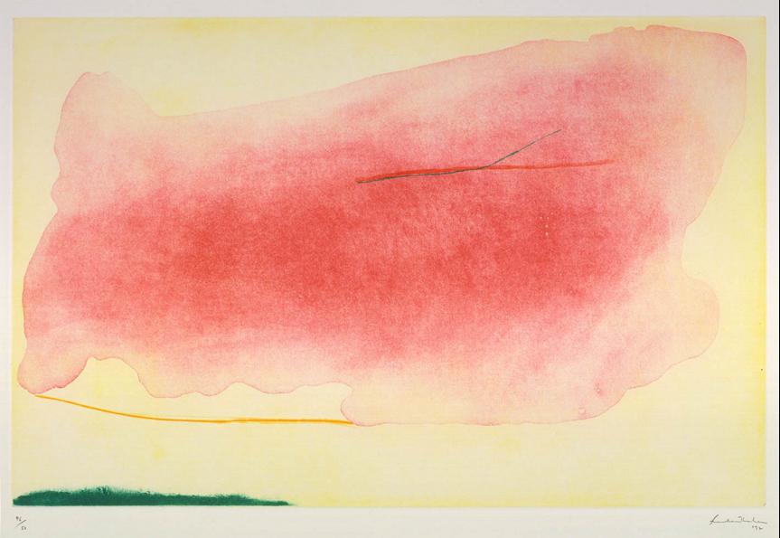 Helen Frankenthaler, Nepenthe, 1972  SOURCE