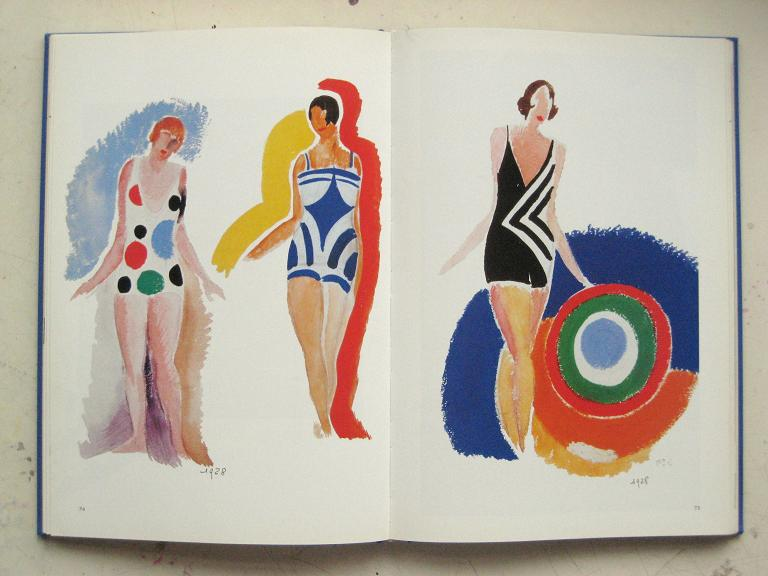 Sonia Delaunay sketches via  Madam Meow