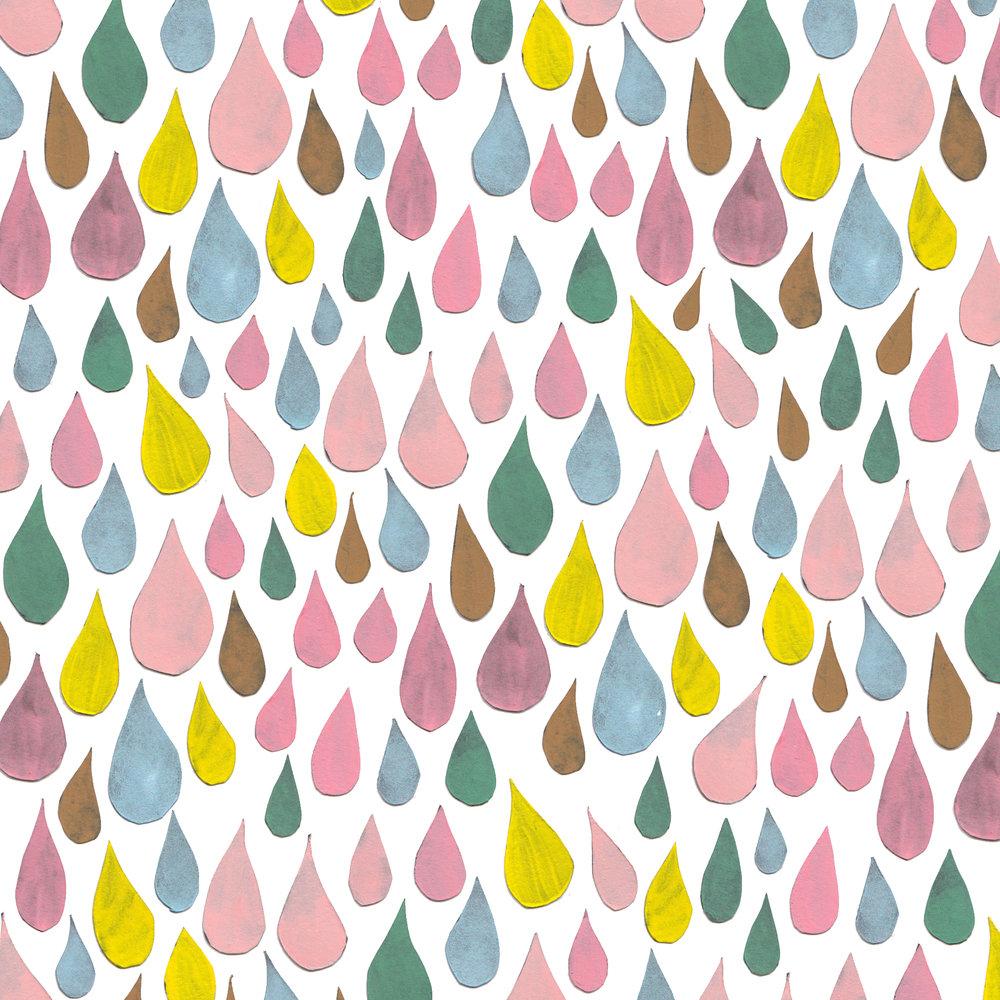Juliet Meeks Paper Drops Pattern