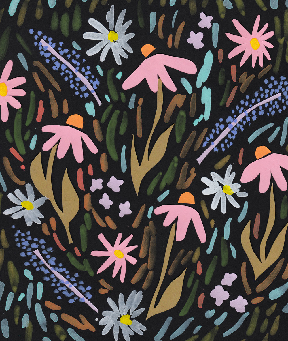 Juliet Meeks Wildflowers Pattern