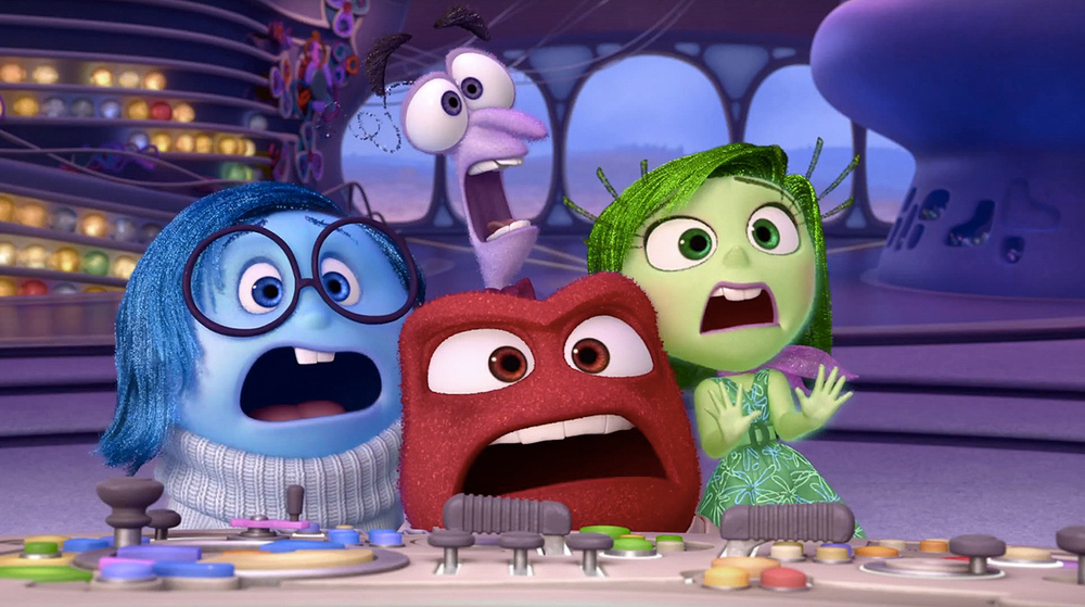 Disney Pixar picture from the movie Inside Out