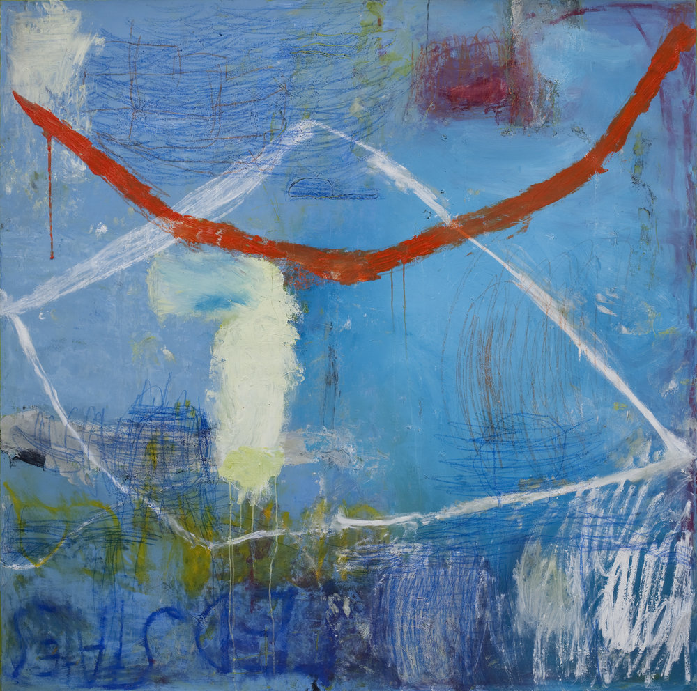 Refuge 72x72 in oil on canvas 2017