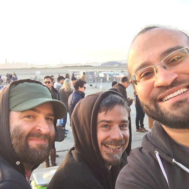 Hanging with da boys in the bay. Loving @factionbrewing