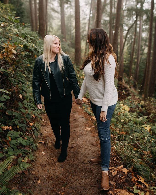 Just sent off this super special foggy fall engagement session today. I'm so excited to shoot couples with this kind of love and care for each other. . . #bellinghamphotographer #bellinghamcouple #bellinghamengagement #bellinghamweddingphotographer