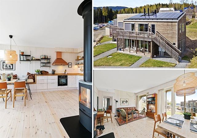 I'm selling my beautiful apartment in Hurdal eco village. After an amazing time living in the village I've decided to move back to my hometown, Oslo. I will always be grateful for all the memories and knowledge I gained here, but this time life had a different plan for me ✨