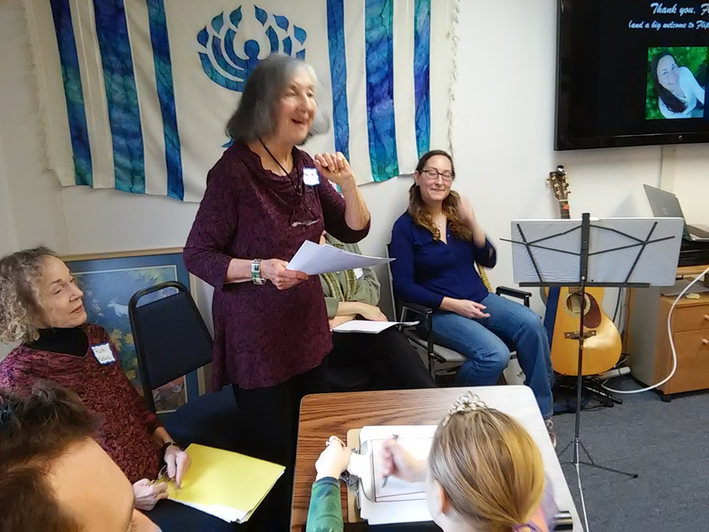 Telling the pete seeger story at social action sunday forum