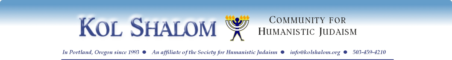 Kol Shalom Community for Humanistic Judaism