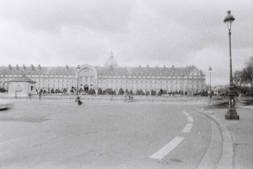 Black and white film | Pentax | Paris 2016
