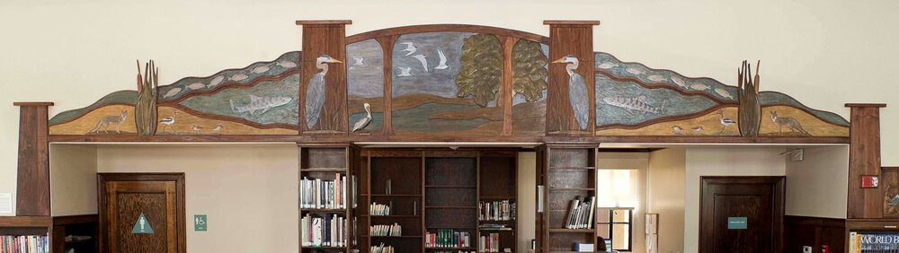 "Alameda West End Library, ""Island Creatures"""