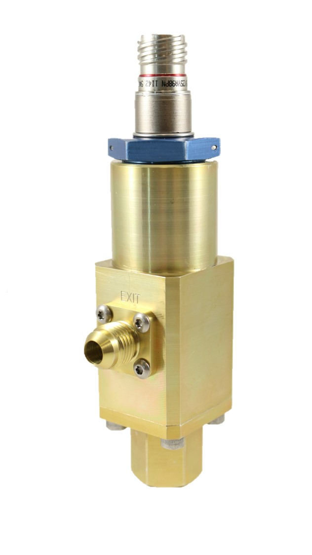TS-60S Solenoid Piloted Poppet Valve