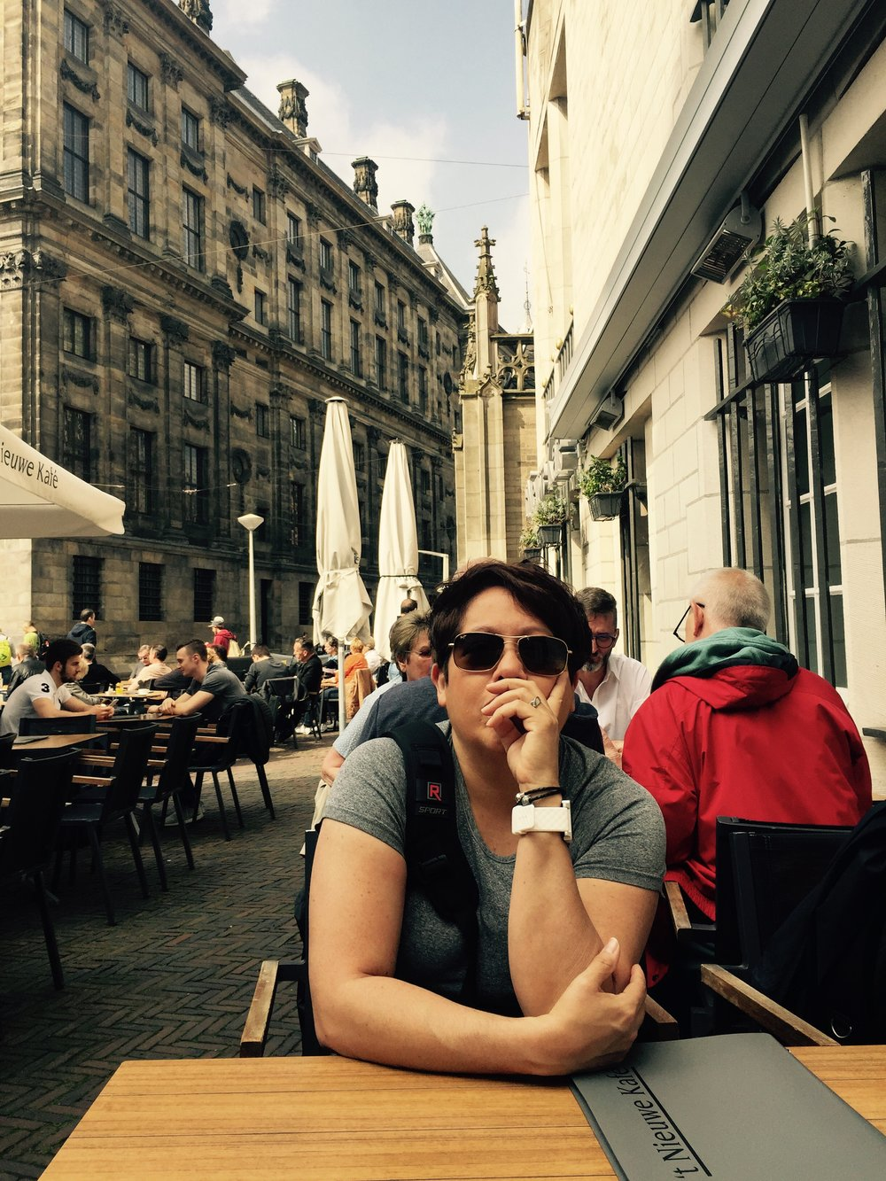 Breakfast before Museums Daam Square Amsterdam