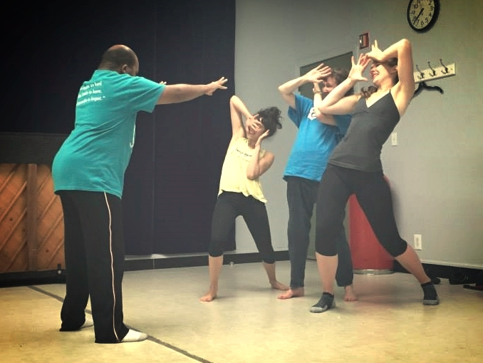 2015 Guest Artist Series  Physical Theater with Diverging Elements Theatre Company