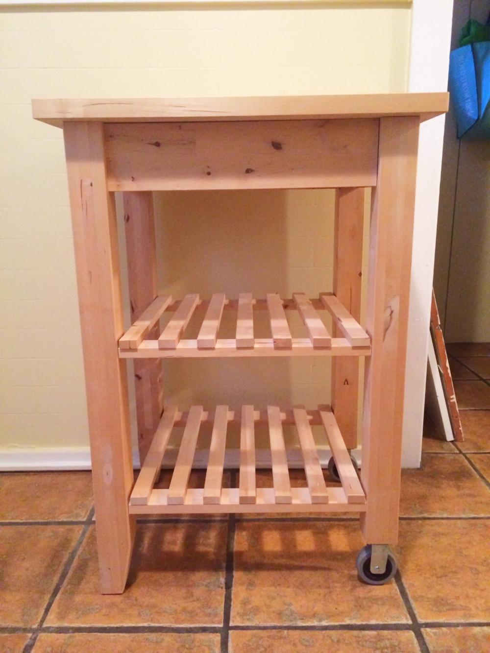 Charmant DIY Ikea Kitchen Cart Hack | Four Threads