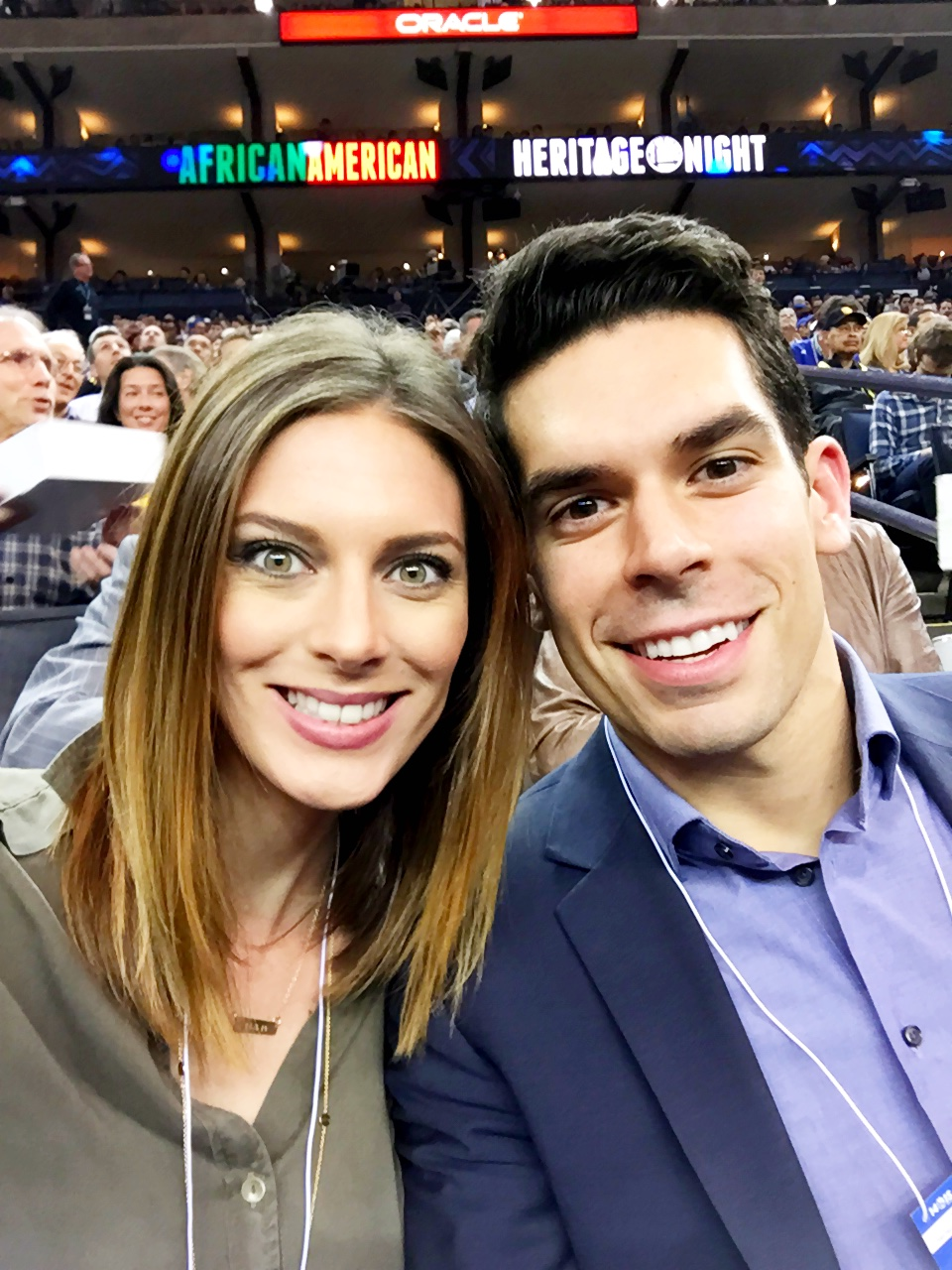 Date Night: Warriors Game | Four Threads