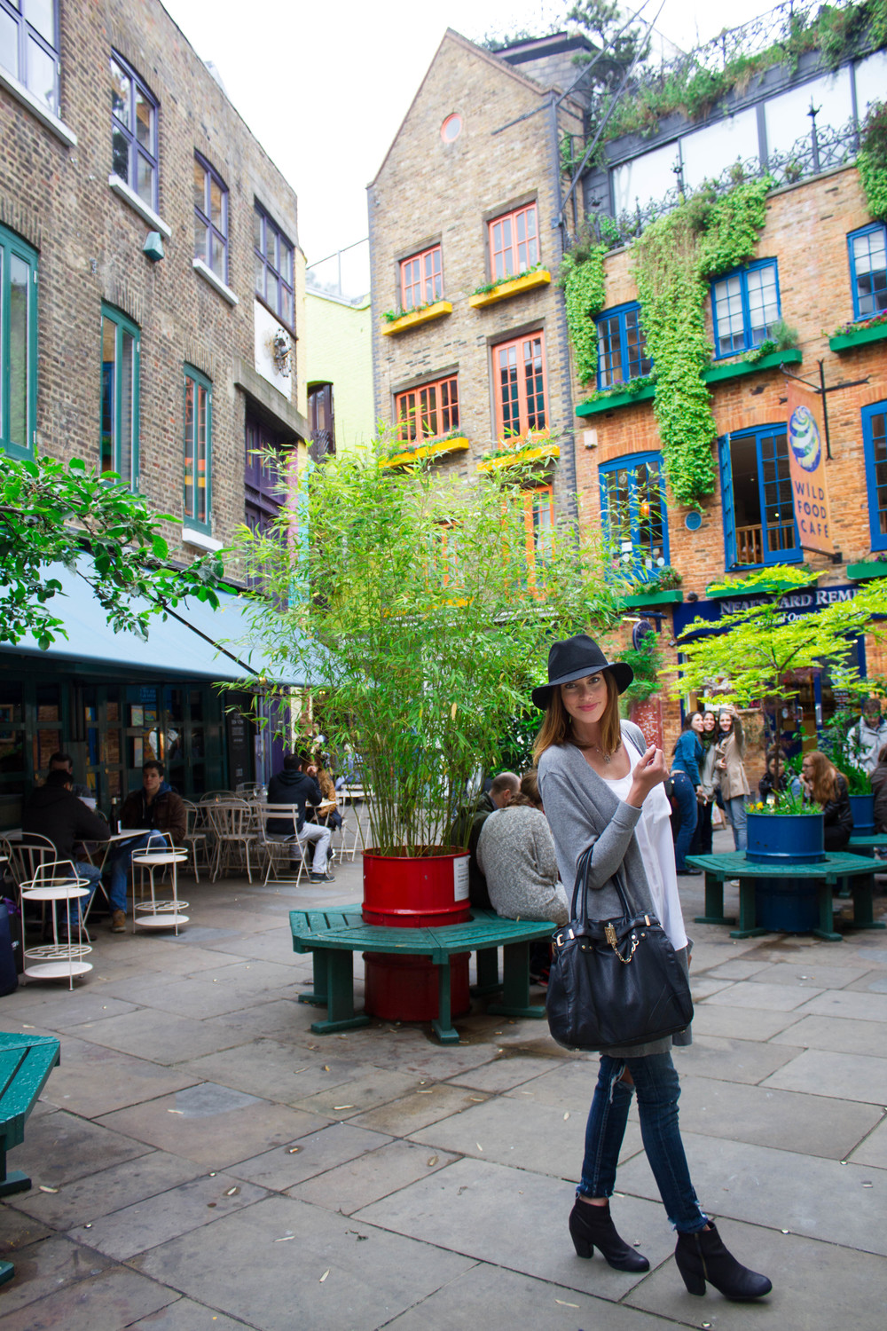 London Time - Neal's Yard at Covent Garden | Four Threads