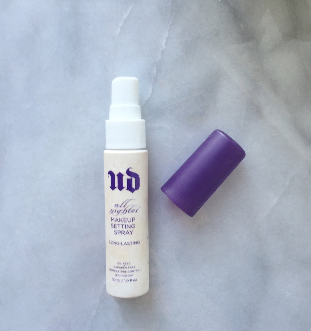 Urban Decay Setting Spray is magic in a bottle! And keeps your makeup from melting off your face all day and night