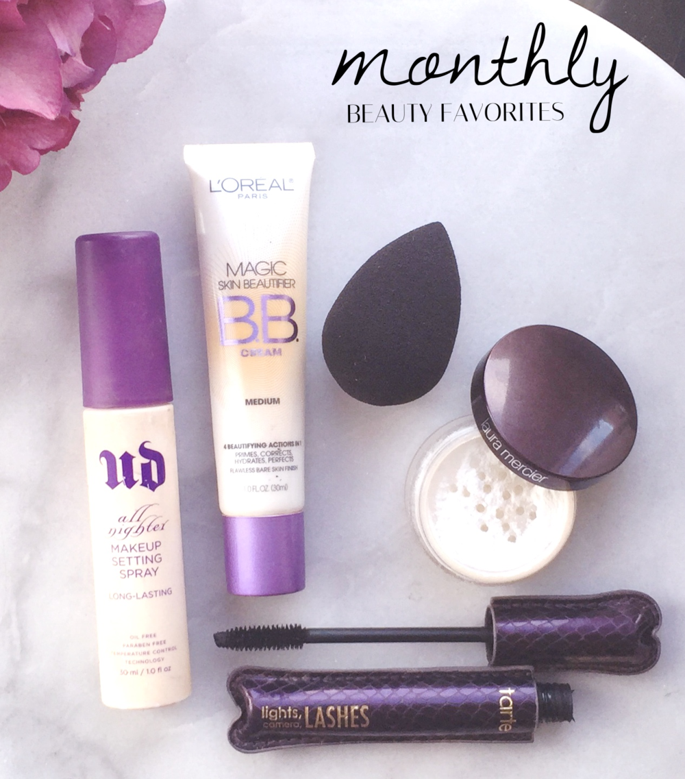 Monthly Beauty Favorites | Four Threads