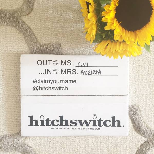 HitchSwitch makes it so easy to change your name after you're married