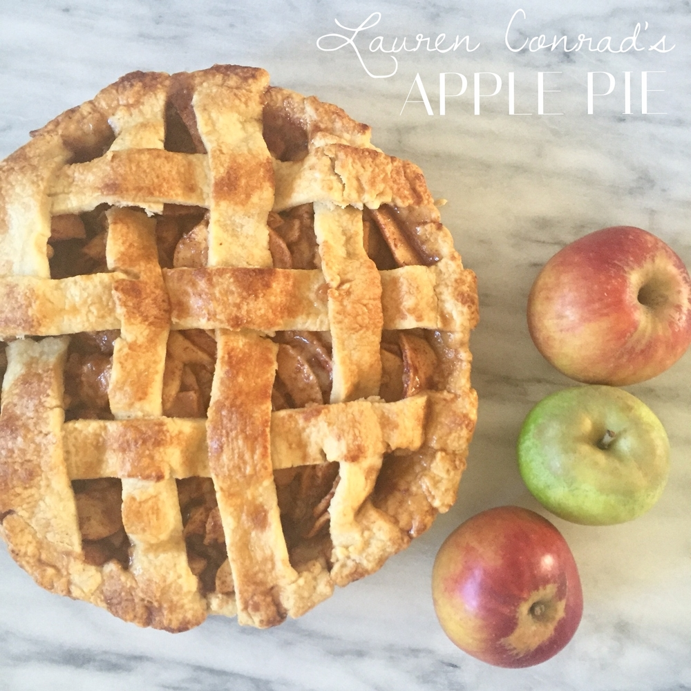 Lauren Conrad's apple pie is a home run!