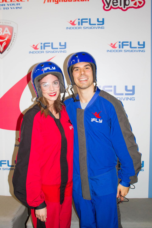 iFly Indoor Skydiving in Houston, Texas