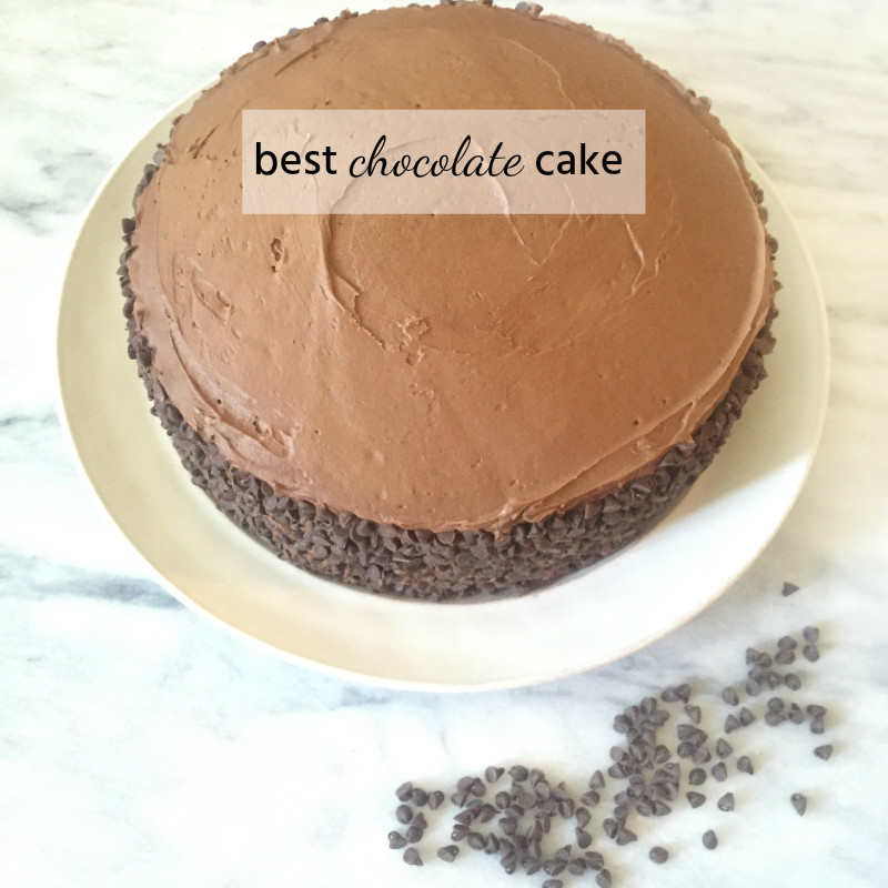 The best classic chocolate cake (with recipe!) - A serious crowd pleaser!