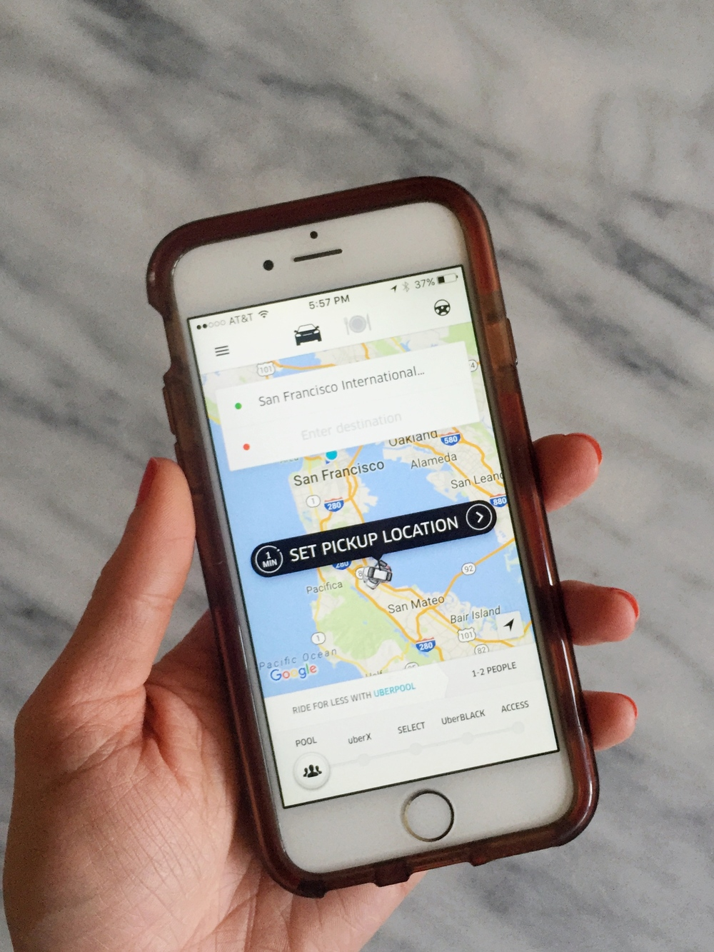 Find out how to read your Uber rating?