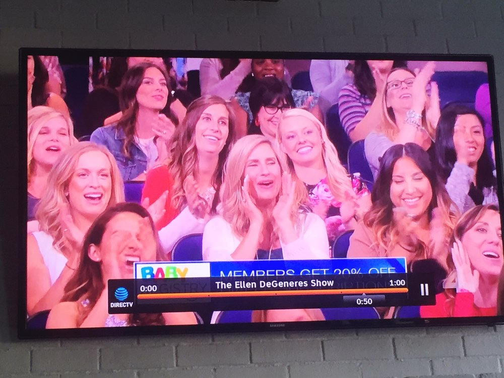 You bet we watched the show when it aired Thursday, 5/11 and spotted me!!