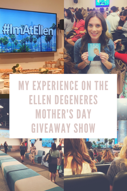 My Experience On The Ellen DeGeneres Mothers Day Giveaway Show - Ellen degeneres show car giveaway