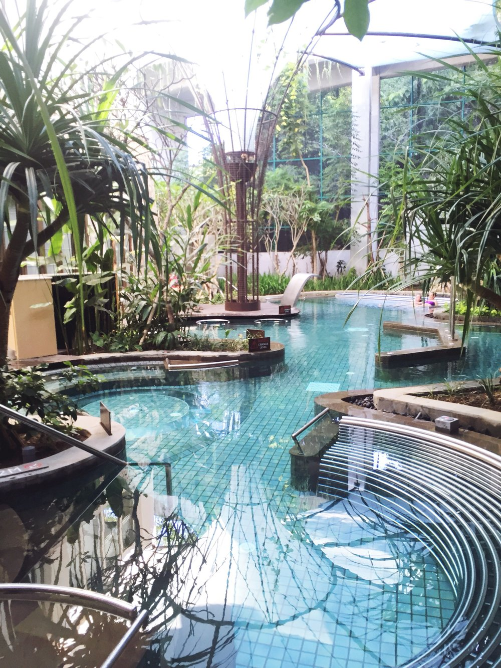 Hydro Vital Pool at The Spa in Nusa Dua