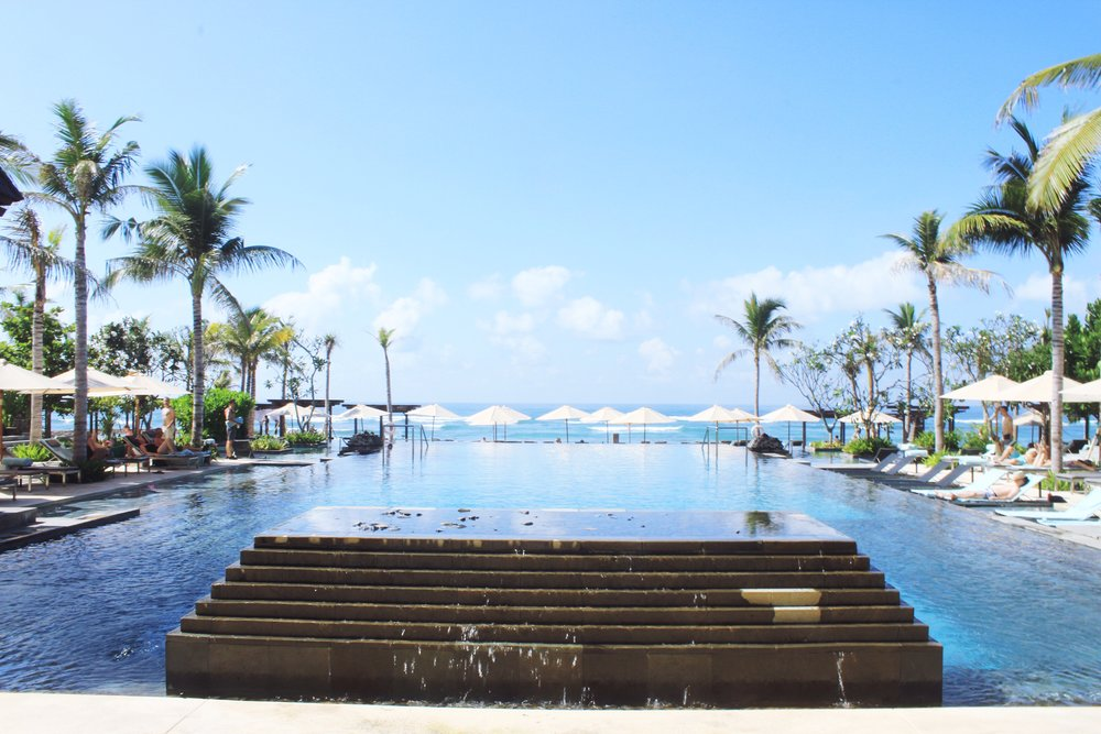 The Pool at The Ritz Carlton Nusa Dua, Bali