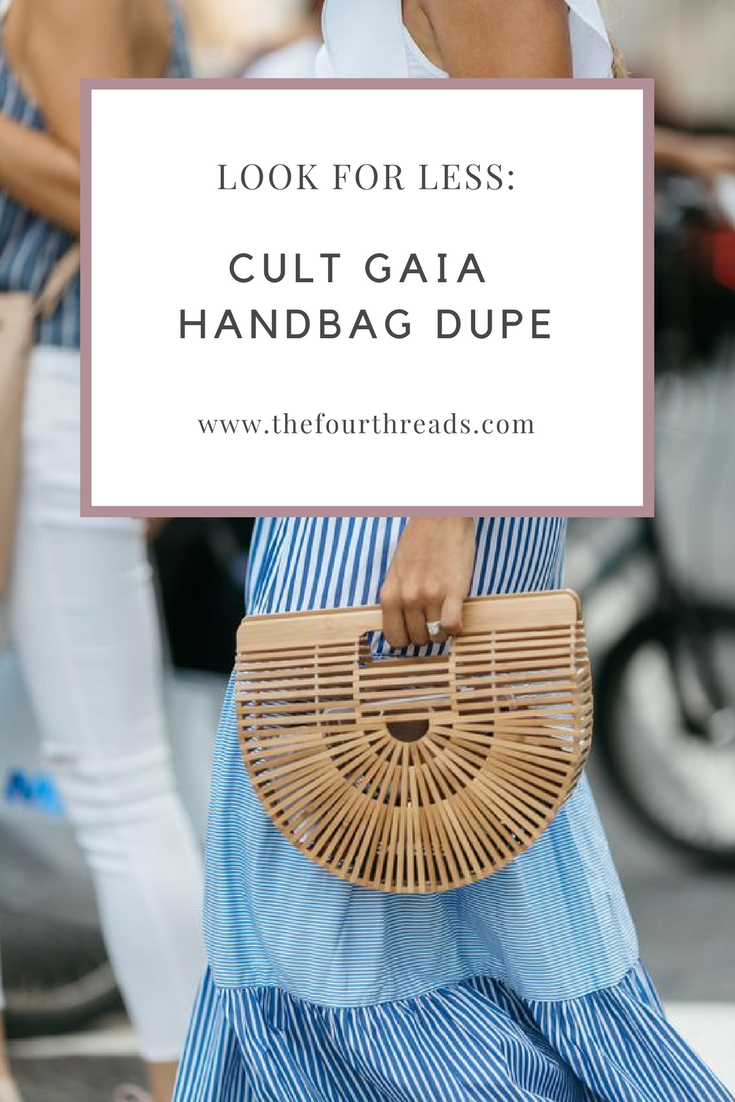 The best designer handbag dupe. The Cult Gaia handbag dupe for only $40!