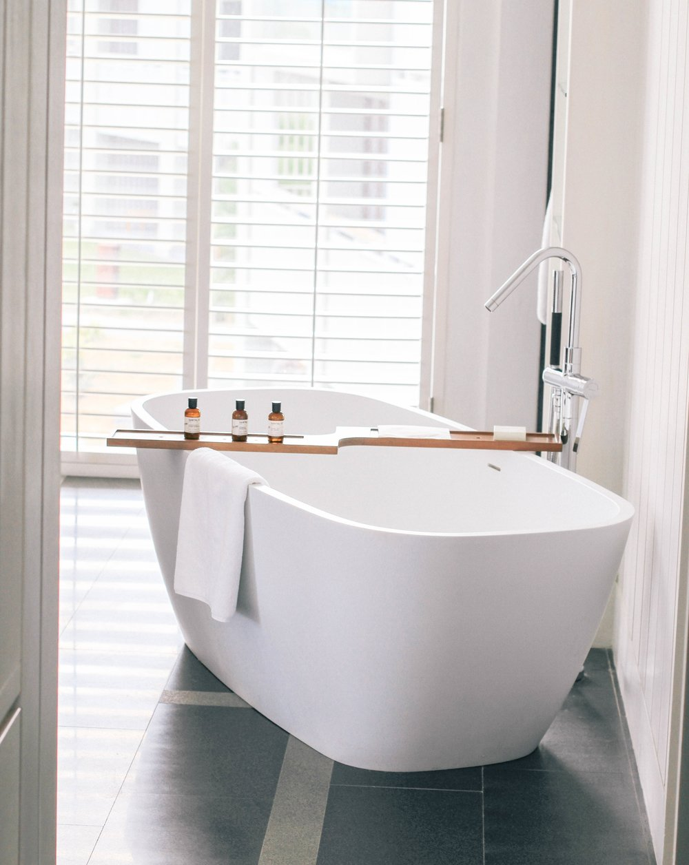 This tub fits 2 people comfortable! #TubGoals