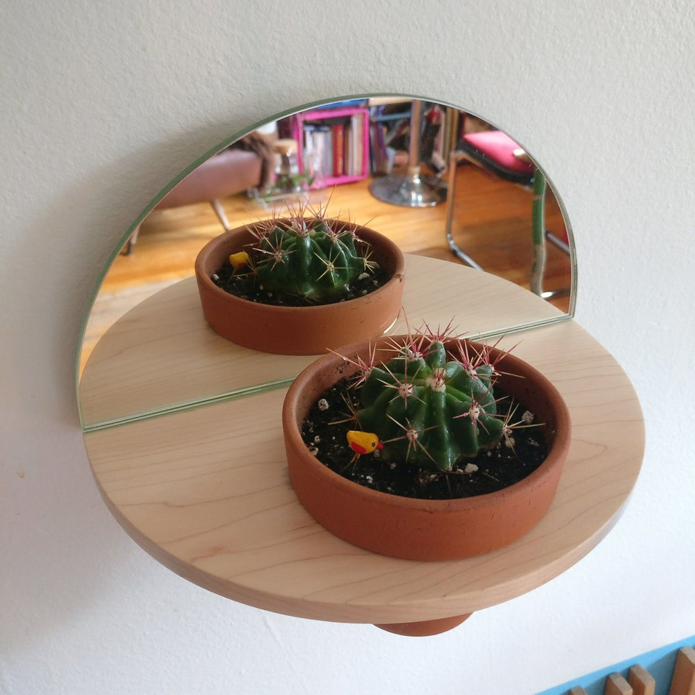 PLANT HANGER, 8/8 PROJECT, MYRIAM RIGAUD, DESIGNER, MONTREAL, WOOD DESIGN, PLANTS, CACTI
