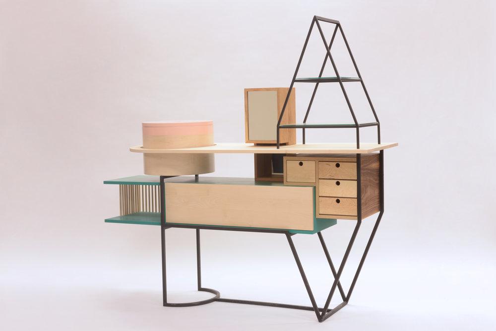 Design furniture, Myriam Rigaud designer, interior design, nomad design, HPs15, EEAM, craftswoman