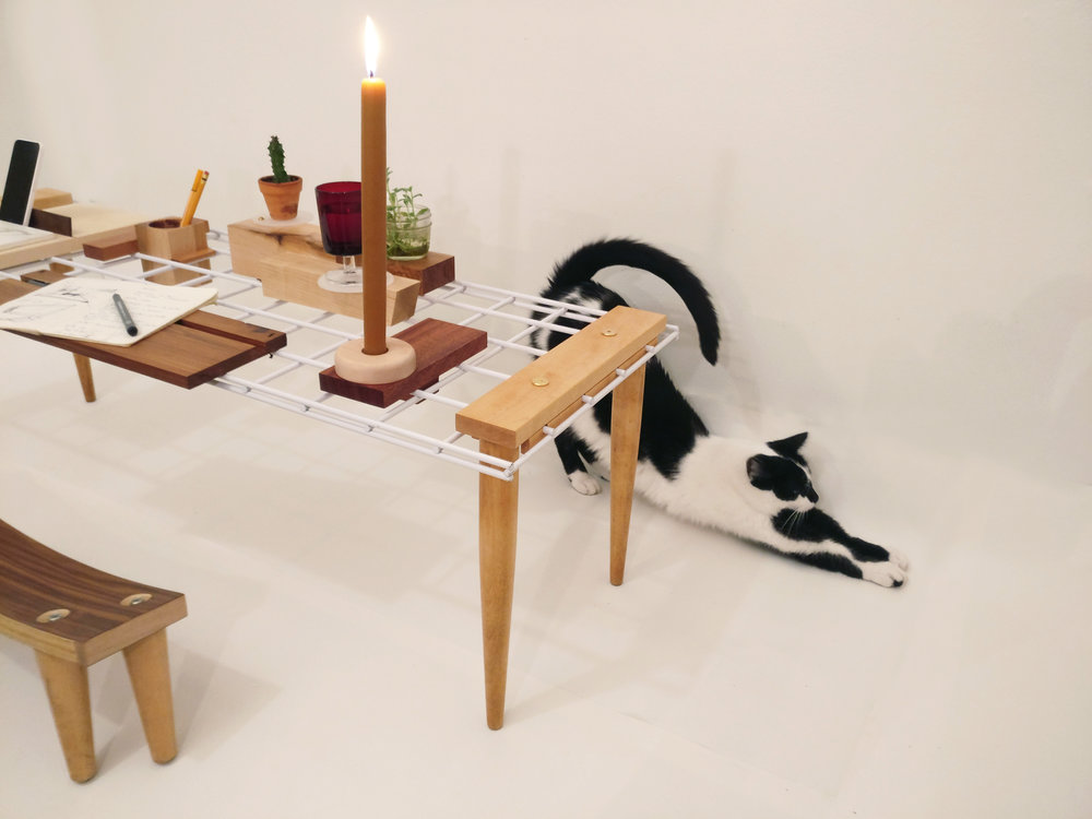 Nuvem coffee table, projecteighteight, designer, myriam rigaud, wood design, design object