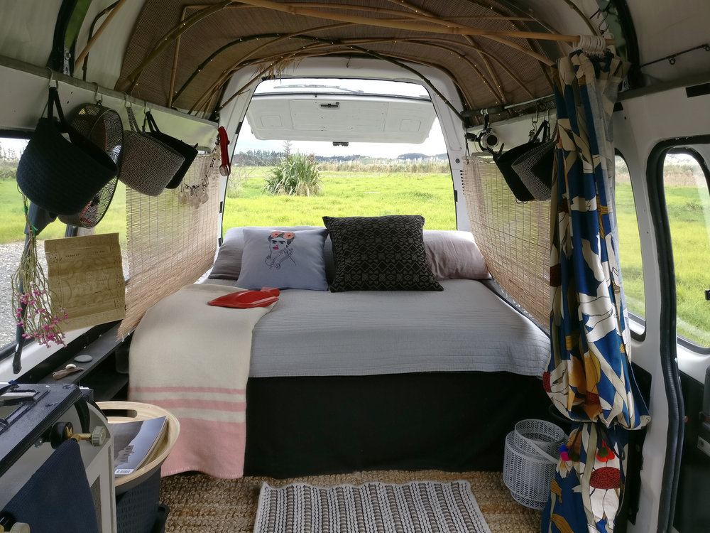 Van design, interior designer, tiny space, vanlife, Myriam Rigaud, e-designer, vanlifestyle, small space design