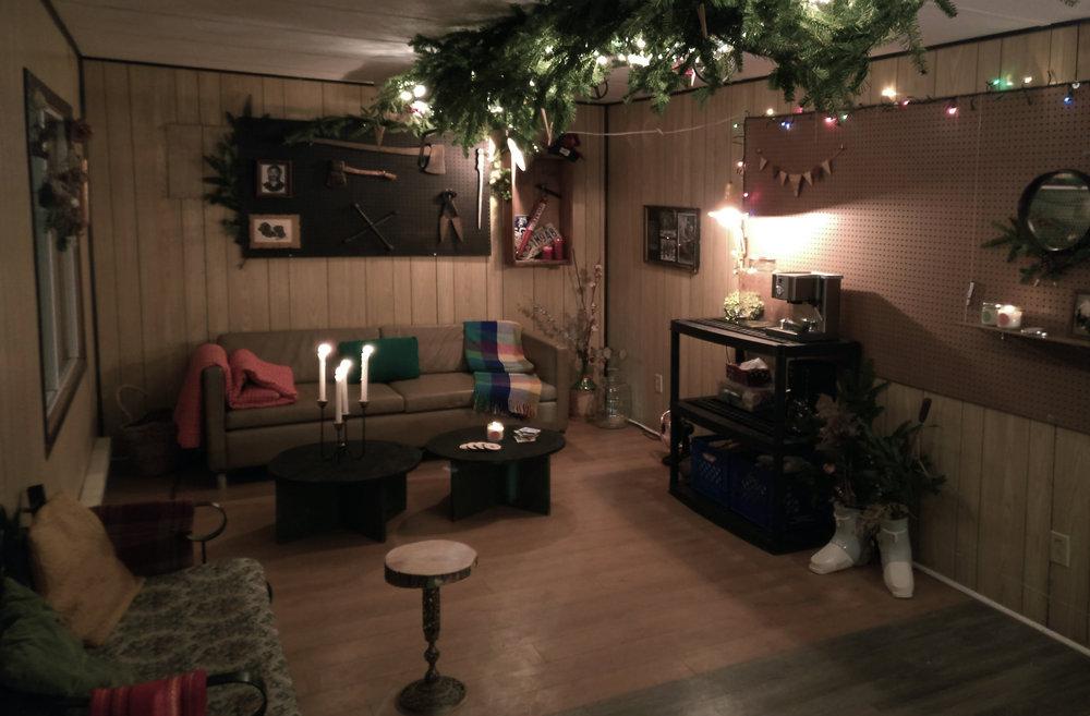 design event, sapint mtl, small space, interior design, Myriam Rigaud, Christmas event, commercial design