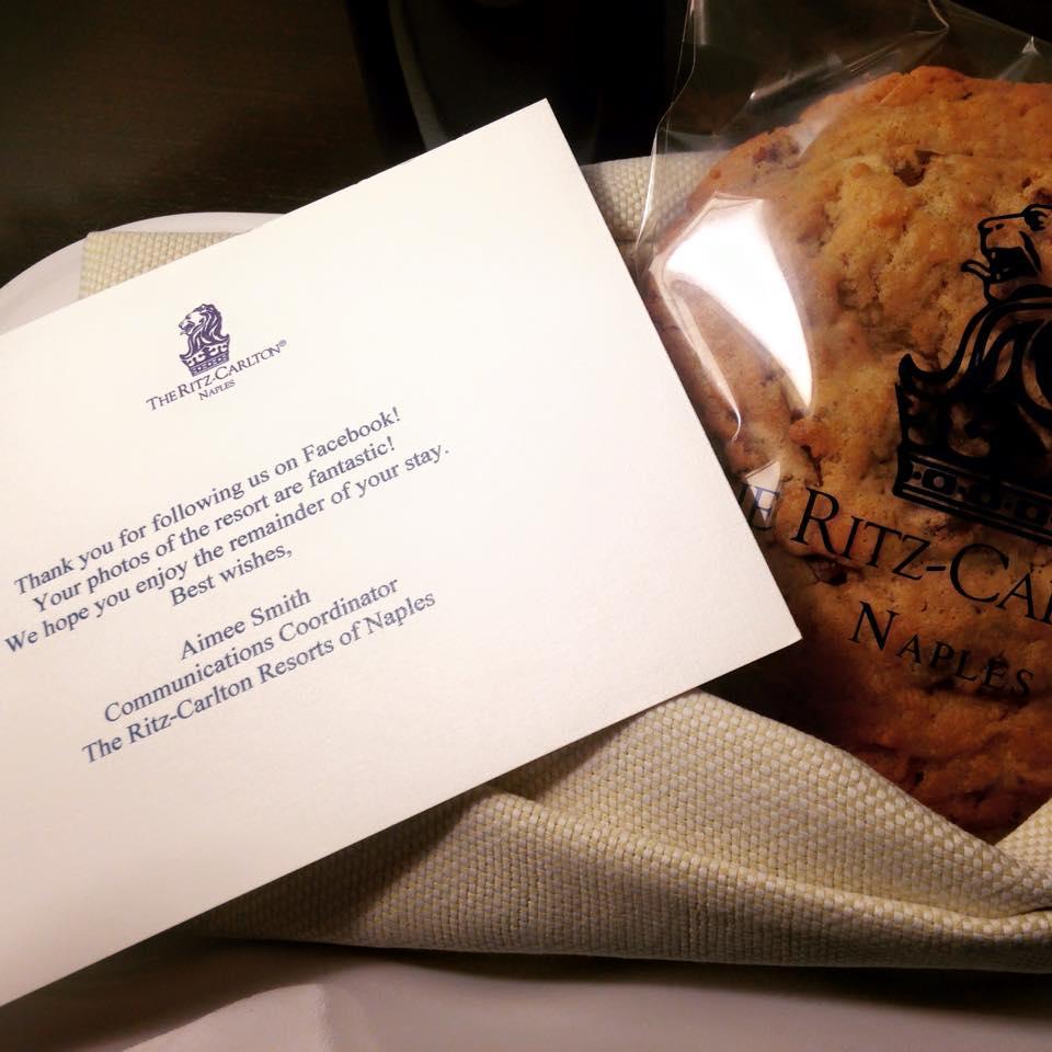 Ritz-Carlton cookie