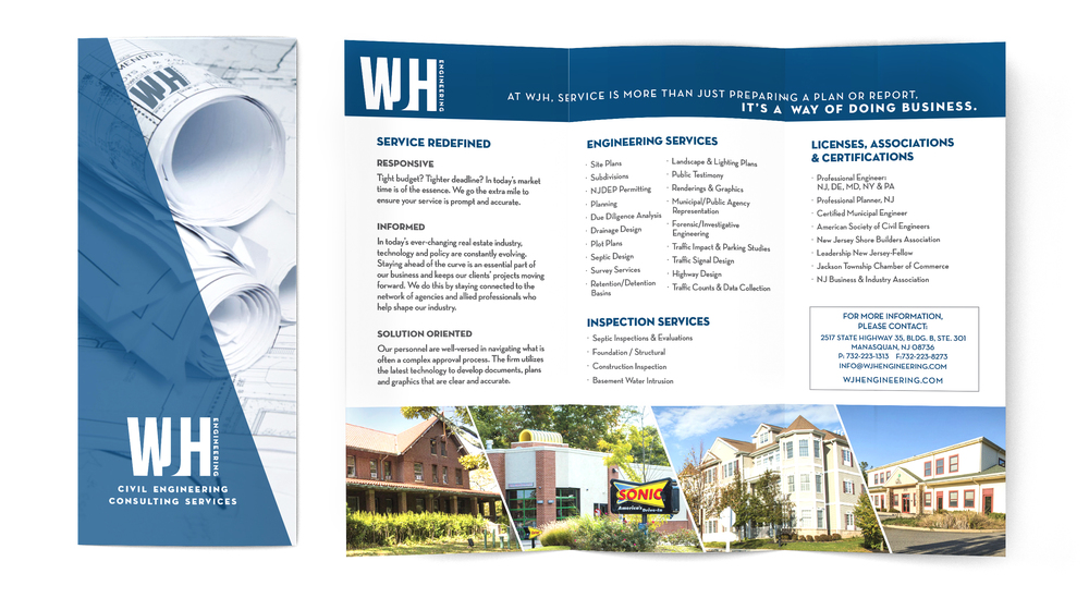 WJH Engineering Sales Brochure