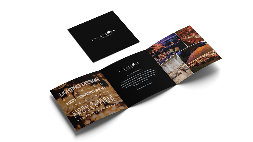 Eventions Productions Sales Trifold