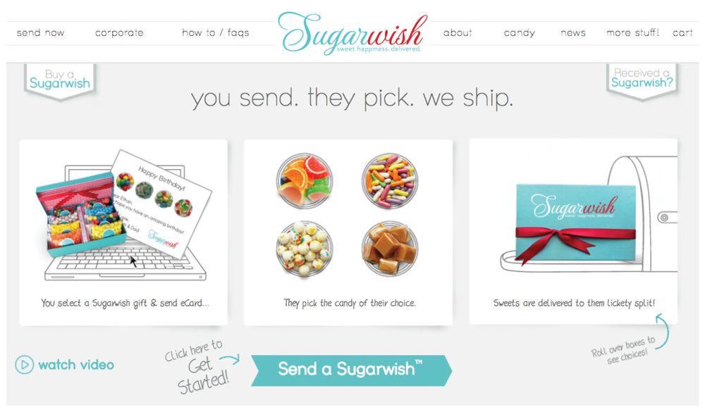Sugarwish website