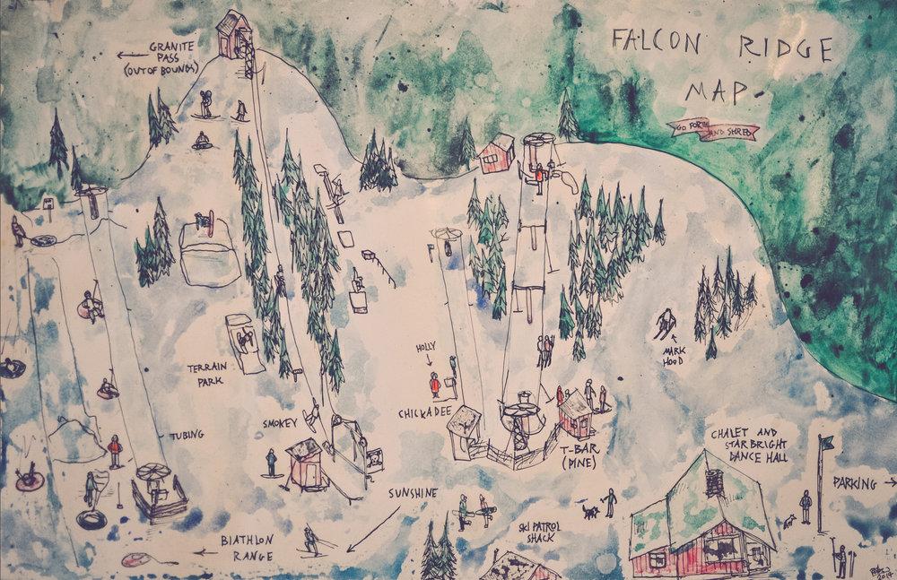 SKI FALCON RIDGE - Whiteshell, Manitoba