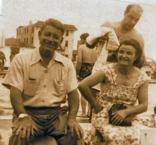 Grandpa Rocco & Alice