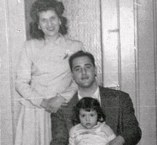 Grandma Helen, Grandpa Tom and Momma Rosemary