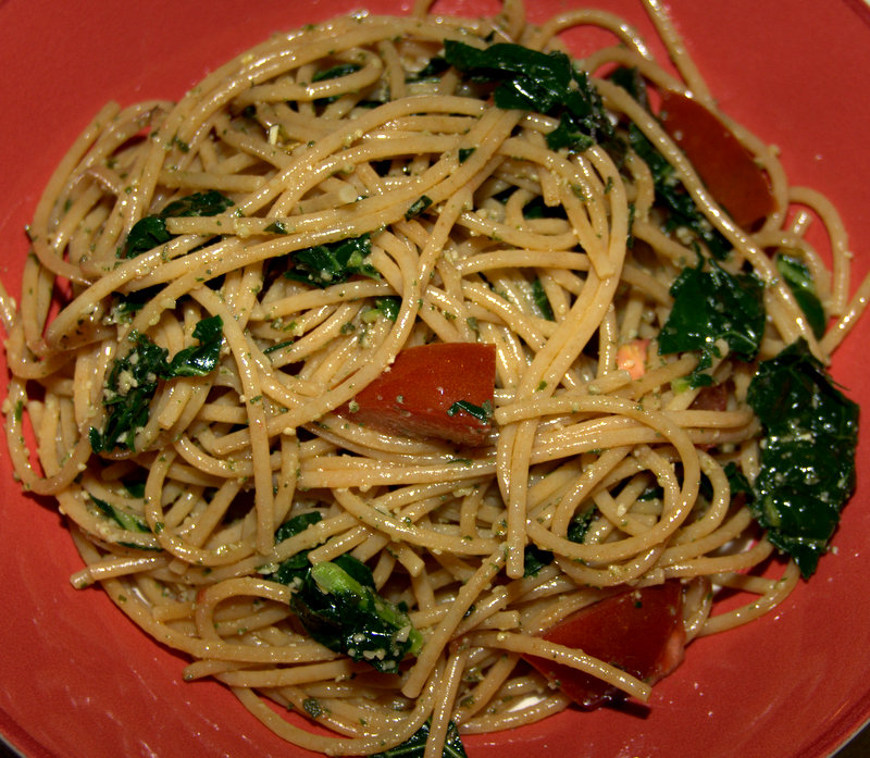 sage pesto pasta