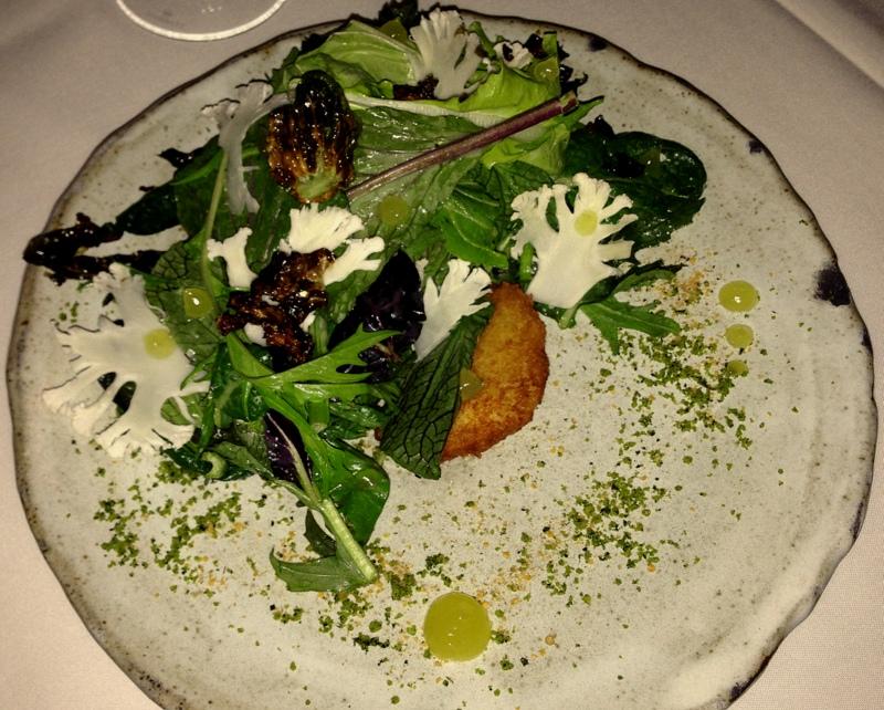 brassica salad McCrady's